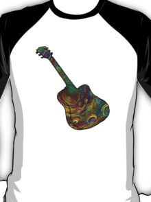 Psychedelic Six String T-Shirt