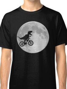Dinosaur Bike and Moon Classic T-Shirt