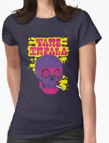 Tame Impala Skull Candy Womens Fitted T-Shirt