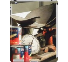 Scale and Canned Goods iPad Case/Skin