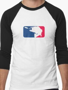 Major League Bassin Men's Baseball ¾ T-Shirt