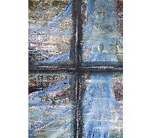 """Blue Window"" Artwork by Carter L. Shepard  Photographic Print"