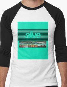 ALIVE tour Men's Baseball ¾ T-Shirt