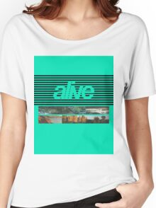 ALIVE tour Women's Relaxed Fit T-Shirt