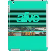 ALIVE tour iPad Case/Skin