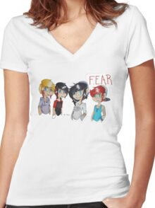 F.E.A.R Women's Fitted V-Neck T-Shirt