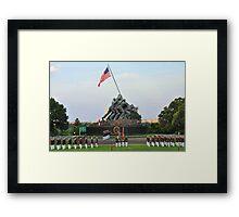 Iwo Jima Memorial - U. S. Marine Corps War Memorial Framed Print