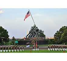 Iwo Jima Memorial - U. S. Marine Corps War Memorial Photographic Print