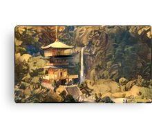 Ancient Temple Canvas Print