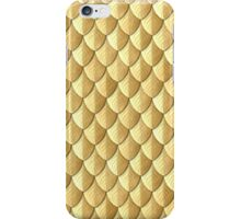 Feather Armor Scales - Gold iPhone Case/Skin