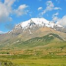 Mount Almirante Nieto Panorama by Graeme  Hyde