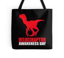 Velociraptor awareness day Tote Bag