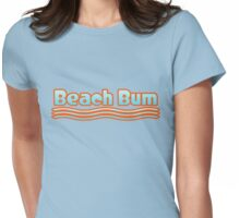 Beach Bum Womens Fitted T-Shirt