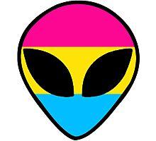 Pan Alien Photographic Print