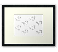 Birb Framed Print