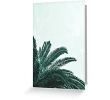 Palm tree abstract Greeting Card