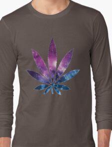 Cannabis T-shirt - Wonderfull Leaf  Long Sleeve T-Shirt
