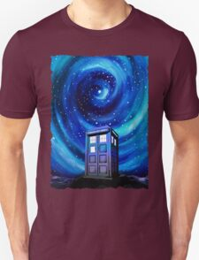 Tardis Vortex Starry Night Unisex T-Shirt