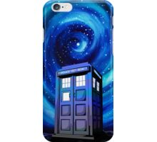Tardis Vortex Starry Night iPhone Case/Skin