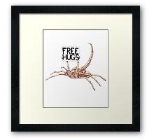Free Hugs T-shirt 2 Framed Print