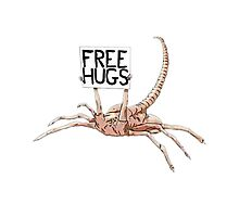 Free Hugs T-shirt 2 Photographic Print