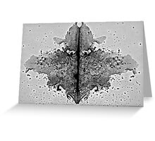 'Now, tell me what do you see?' Greeting Card