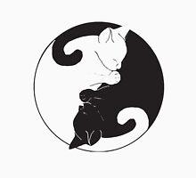 yin yang cat T-shirt 2 Unisex T-Shirt