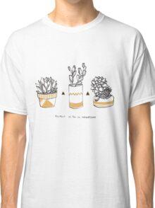 Rude Succulents Classic T-Shirt