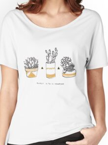 Rude Succulents Women's Relaxed Fit T-Shirt