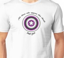 Pride Shield - Asexual Unisex T-Shirt