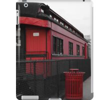 Old Scarlet Train (Red) iPad Case/Skin