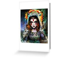 princess mononoke Greeting Card