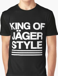 King of Jäger Style Graphic T-Shirt