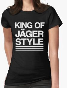 King of Jäger Style Womens Fitted T-Shirt