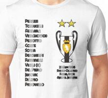 Juventus 1996 Champions League Winners Unisex T-Shirt