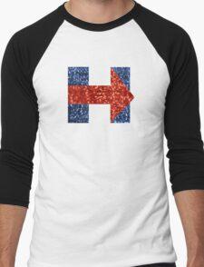 sequin hillary clinton Men's Baseball ¾ T-Shirt