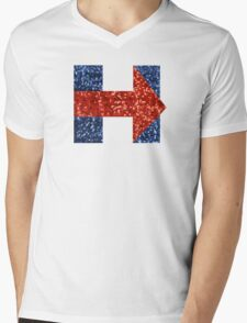 sequin hillary clinton Mens V-Neck T-Shirt