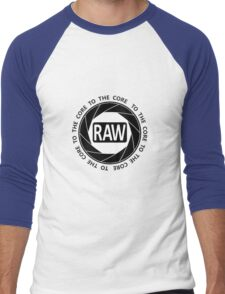 RAW To The Core! Men's Baseball ¾ T-Shirt