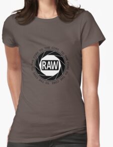 RAW To The Core! Womens Fitted T-Shirt
