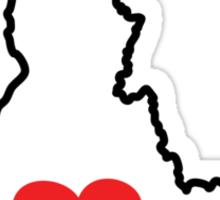 I Love Idaho Sticker