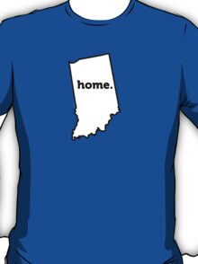 Indiana. Home. T-Shirt