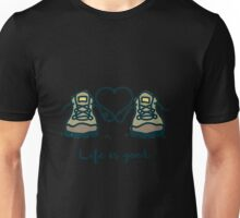 camping - HIKING BOOT Unisex T-Shirt