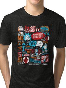 Morty & Rick  Tri-blend T-Shirt