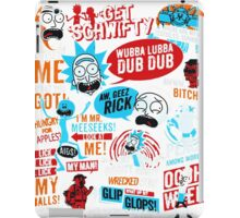 Morty & Rick  iPad Case/Skin