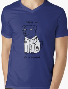 Dogtor Mens V-Neck T-Shirt