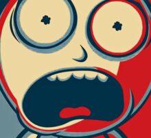 Morty & Rick 3 Sticker