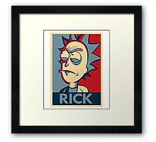 Morty & Rick 4 Framed Print