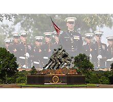 Iwo Jima Memorial - U.S. Marines Photographic Print