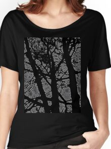 tree in the dark Women's Relaxed Fit T-Shirt