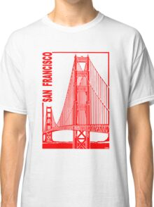 San Francisco-Golden Gate Bridge Classic T-Shirt